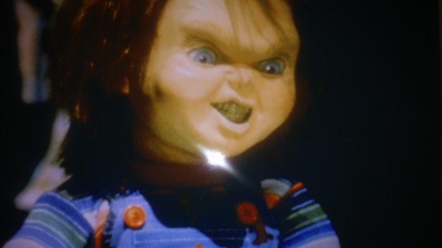 This is a photo that I puchased that is now mine. It comes from  the movie set of the movie 'Child's Play'.