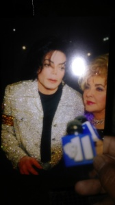 The late great King of Pop, Michael Jackson and the late great Elizabeth Taylor.