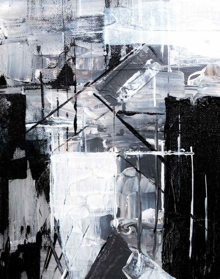 gray and black digital wallpaper
